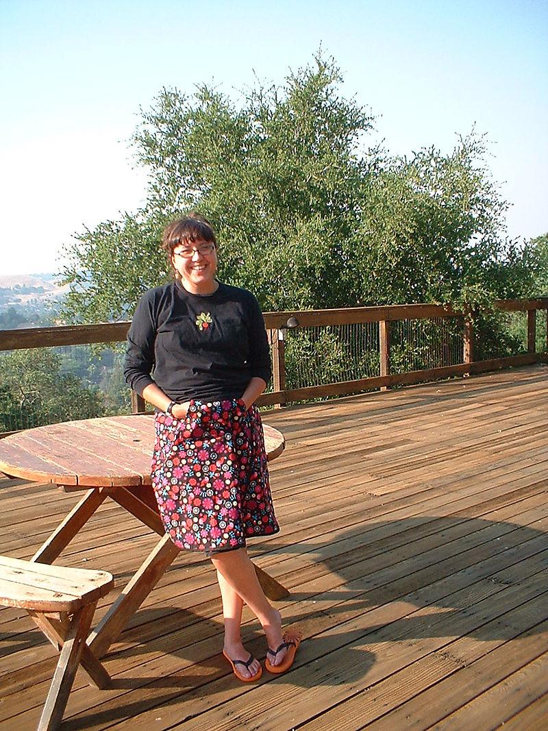 New wrap skirt!