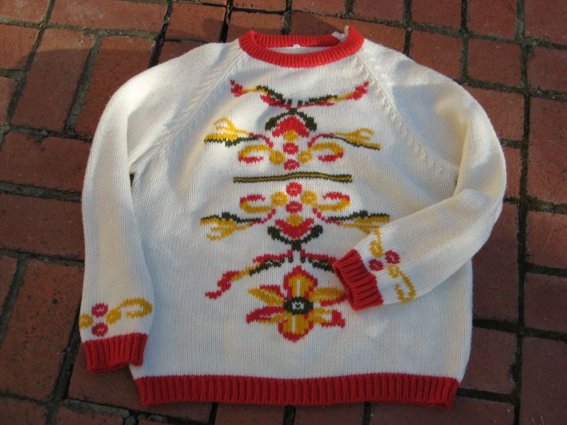 Groovy sweater